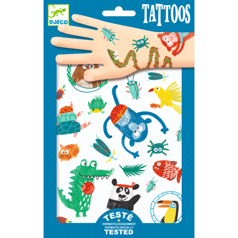 TEMPORARY TATTOOS: SNOUTS