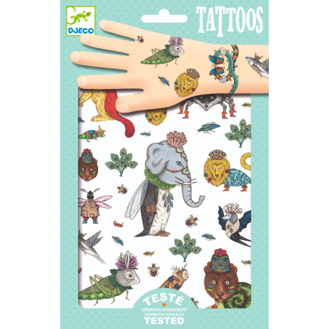 TEMPORARY FOIL TATTOOS: BEASTIES