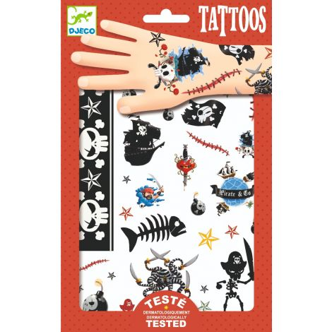 TEMPORARY TATTOOS: PIRATES