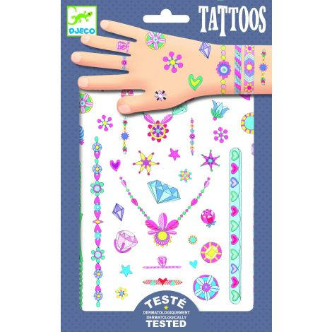 TEMPORARY NEON TATTOOS: JENNI'S JEWELS