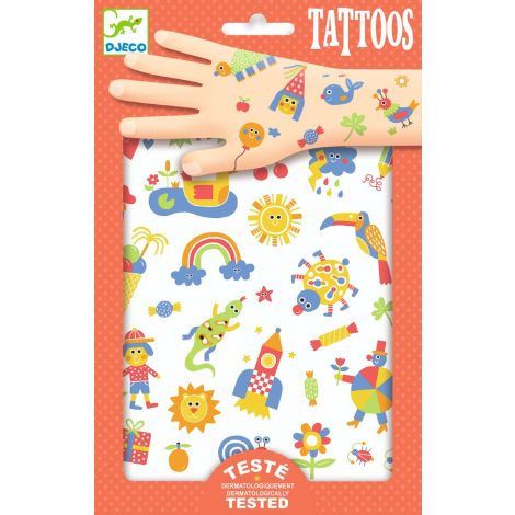 TEMPORARY TATTOOS: SO CUTE