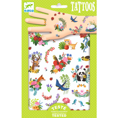 TEMPORARY TATTOOS: HAPPY SPRING