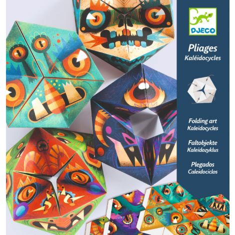 KALEIDOCYCLES PAPER FOLDING ACTIVITY SET: FLEXMONSTERS