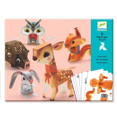 PAPER FOLDING ACTIVITY SET: PRETTY WOODS