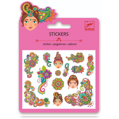 MINI GLITTER STICKERS: UNDER THE SEA (4 FOR $10)