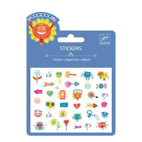 MINI PUFFY STICKERS: SYMBOLS (4 FOR $10)