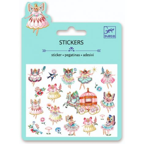 MINI PUFFY STICKERS: VINTAGE FAIRIES & TINY WINGS (4 FOR $10)