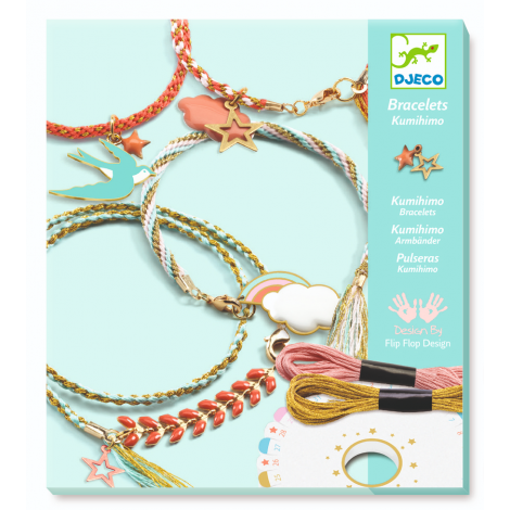 KUMIHIMO FRIENDSHIP BRACELETS SET