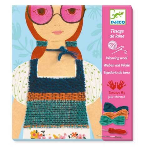 WOOL WEAVING WORKSHOP KIT: ROSE COLOURED GLASSES
