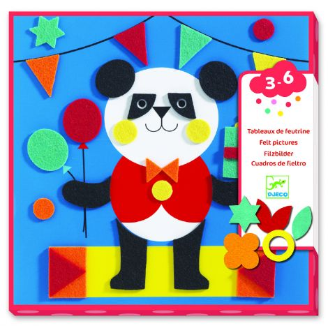 FELT STICKERS ACTIVITY SET: GENTLE CREATURES