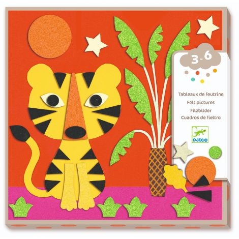 FELT STICKERS ACTIVITY SET: SWEET NATURE
