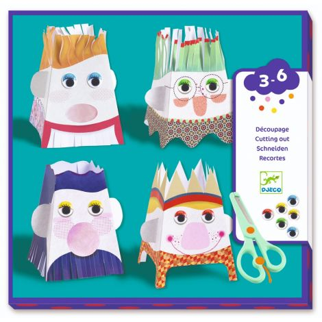 SAFE SCISSOR CUTTING WORKSHOP KIT: SNIP SNIP CHARACTERS
