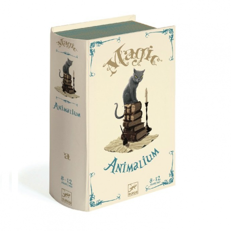 ANIMALIUM MAGIC MIND-READING BOX OF CARDS