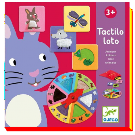ANIMALS TACTILO LOTO BOARD GAME
