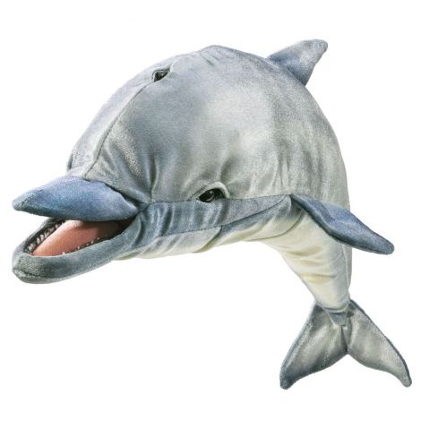 WHISTLING DOLPHIN HAND PUPPET