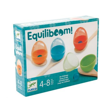 EQUILIBOOM PASS-THE-EGG RELAY GAME