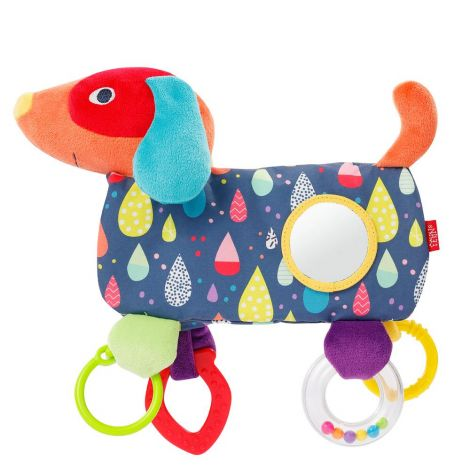 COLOUR FRIENDS DOG ACTIVITY PLUSH