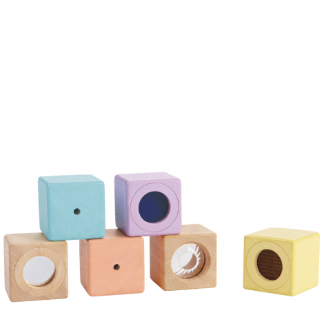 PASTEL MULTI-SENSORY ACTIVITY BLOCKS