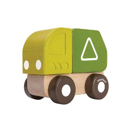 MINI GARBAGE TRUCK PUSH TOY