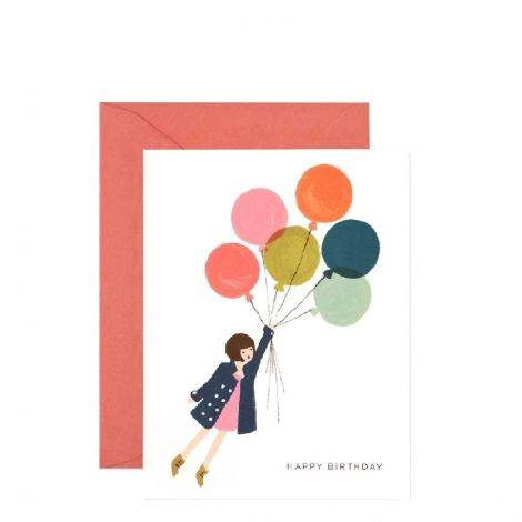 FLY AWAY BIRTHDAY GREETING CARD, BY RIFLE PAPER CO.