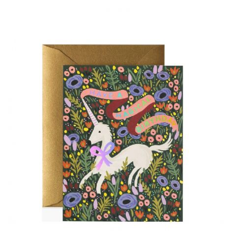 MAGICAL BIRTHDAY GREETING CARD, BY RIFLE PAPER CO.