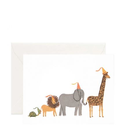 PARTY PARADE GREETING CARD, BY RIFLE PAPER CO.
