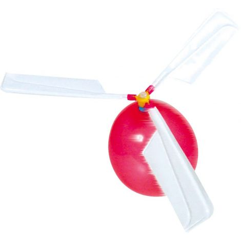 DIY BALLOON HELICOPTERS FOR STEM PLAY, SET OF 4