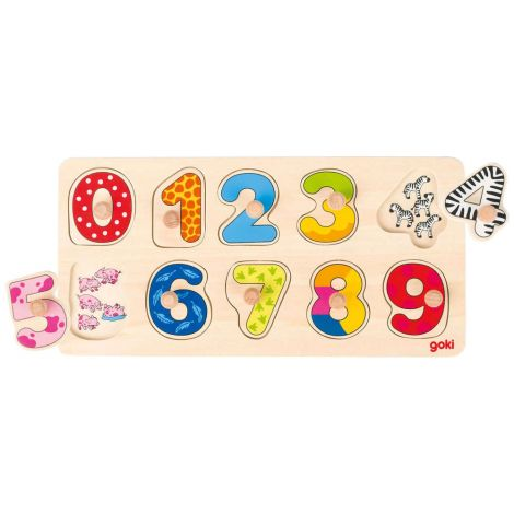 WOODEN KNOB PUZZLE: I LEARN TO COUNT NUMBERS