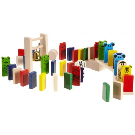 263PC DOMINO RACE BUILDING SET