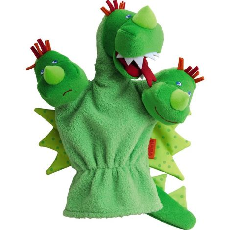 THREE-HEADED DRAGON GLOVE PUPPET