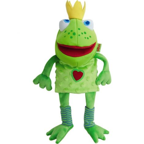 FROG PRINCE GLOVE PUPPET
