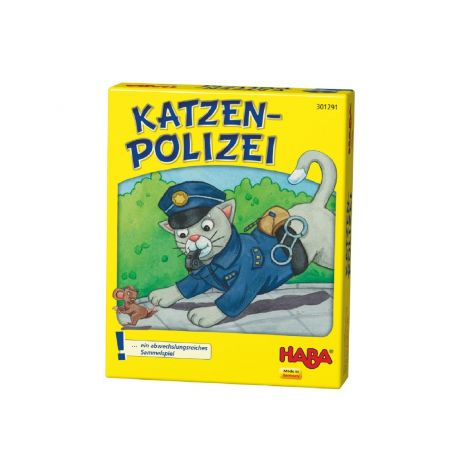POLICE CATS CARD GAME