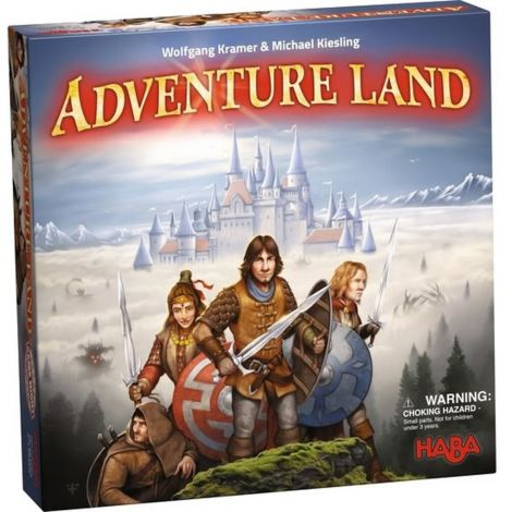 ADVENTURE LAND BOARD GAME OF STRATEGY