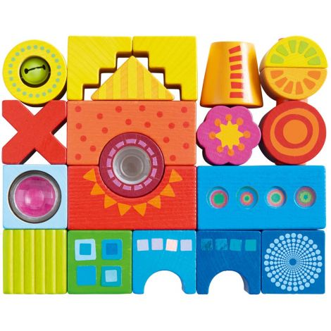 21PC JOY MULTI-SENSORY BUILDING BLOCKS