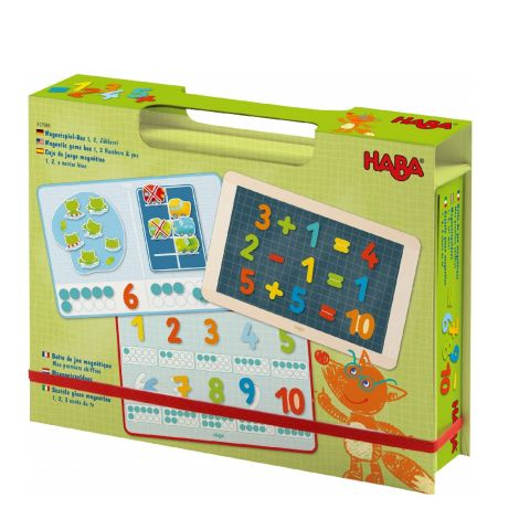 MAGNETIC ACADEMIC GAME BOX: 1, 2, NUMBERS & YOU
