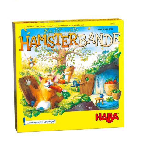 HAMSTER CLAN COOPERATION BOARD GAME
