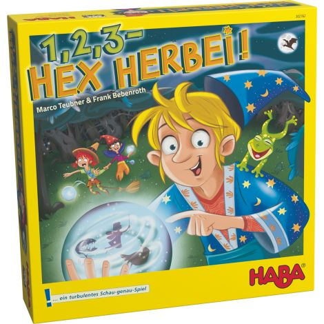 1, 2, 3 HEX HERBEI! BOARD GAME OF OBSERVATION