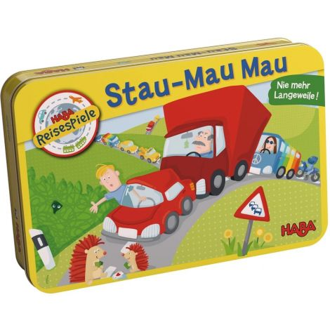 TRAVELLING MAGNETIC TIN GAME: CRAZY TRAFFIC JAM