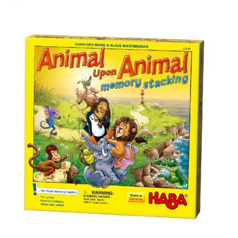 ANIMAL UPON ANIMAL BOARD GAME: STACKING MEMORY EDITION