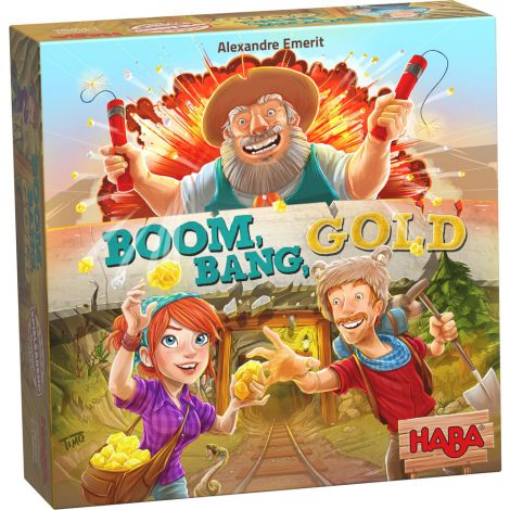 BOOM BANG GOLD BOARD GAME