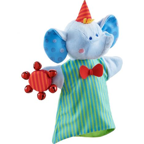 MUSICAL ELEPHANT GLOVE PUPPET