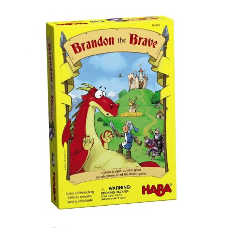 BRANDON THE BRAVE BOARD GAME OF STRATEGY