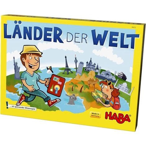 COUNTRIES OF THE WORLD BOARD GAME