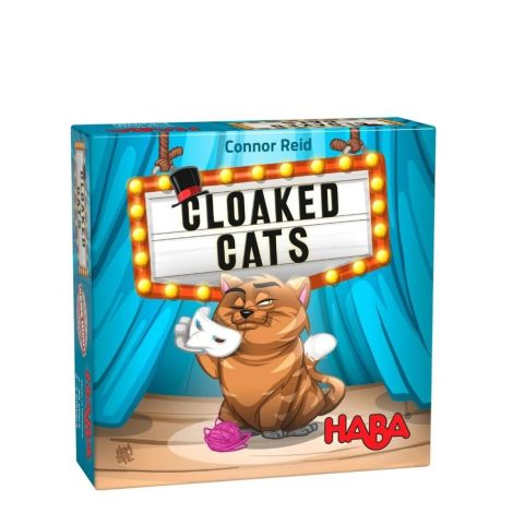 CLOAKED CATS CARD GAME OF DEDUCTION