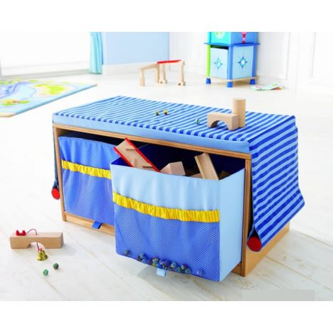 BUILDING BLOCKS STORAGE BENCH