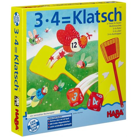 3 x 4 = SWAT! MATHEMATICS BOARD GAME