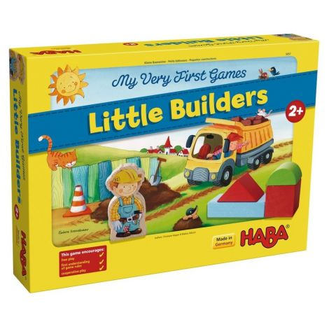 MY VERY FIRST GAMES: LITTLE BUILDERS GAME OF COOPERATION