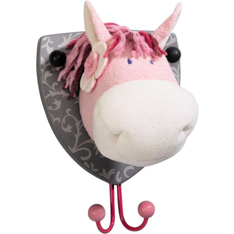 PAULINA HORSE PLUSH WALL HOOK