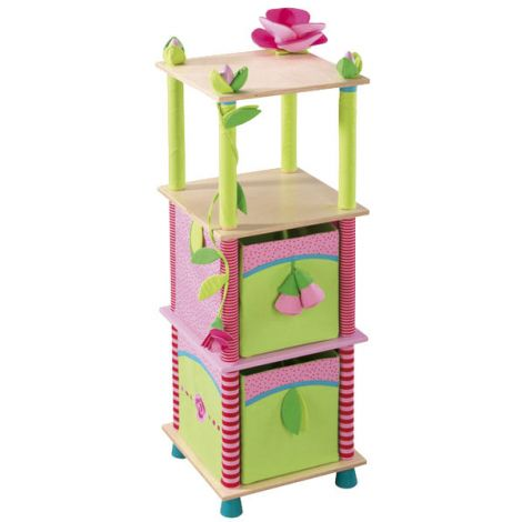 ROSE FAIRY STORAGE SHELF
