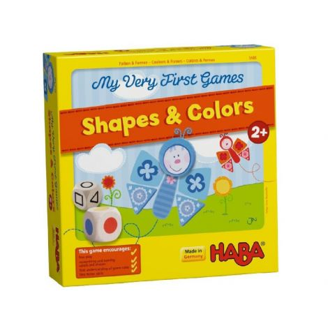 MY VERY FIRST GAMES: SHAPES & COLOURS